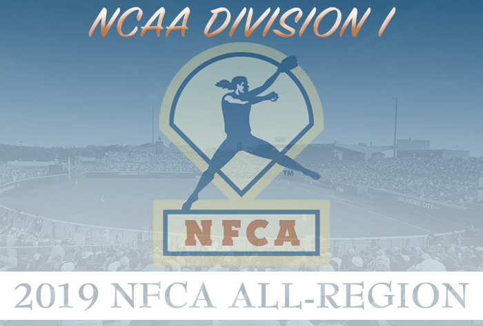 392 student-athletes receive 2019 NFCA Division I All-Region honors