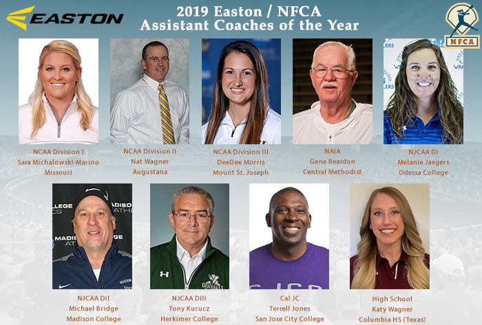 2019 Easton / NFCA Assistant Coaches of the Year