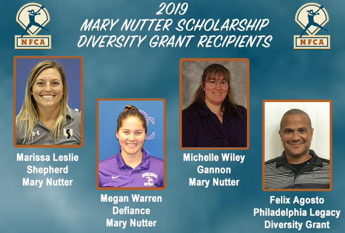 NFCA Mary Nutter Scholarship and Diversity Grant recipients