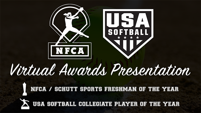 NFCA & USA Softball announce live virtual award reveal