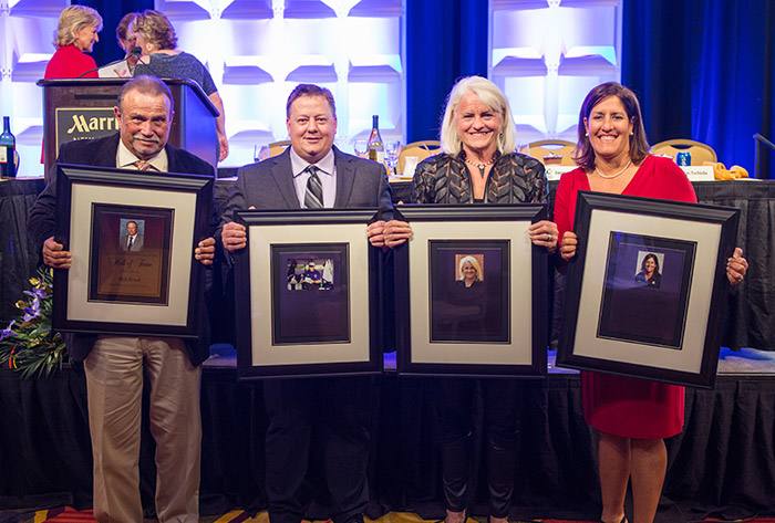 Brock, Joseph, Stevens, Tschida inducted in NFCA Hall of Fame