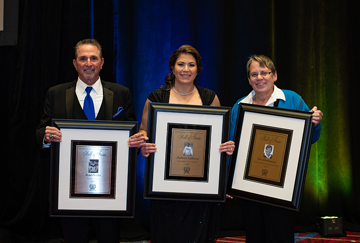 NFCA Hall of Fame, NFCA Hall of Fame Banquet, Dee Abrahamson, Brad Pickler, Anthony LaRezza, Joelle Della Volpe