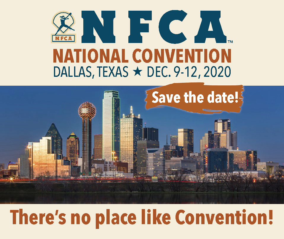 NFCA Convention Save the Date 2020