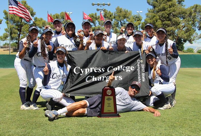 Undefeated State Champion Cypress College named NFCA Cal JC National Coaching Staff of the Year