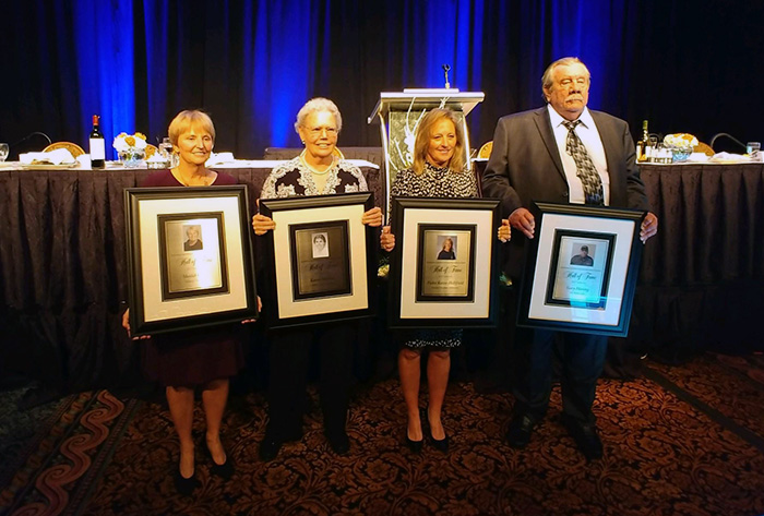 Quartet inducted into NFCA Hall of Fame