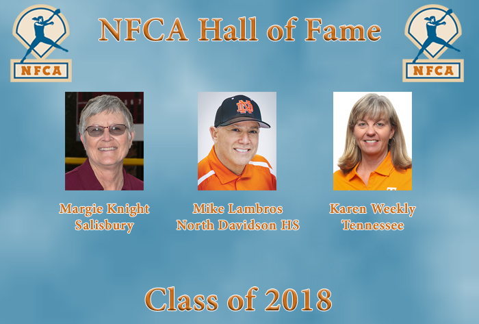 Trio announced to join NFCA Hall of Fame in 2018