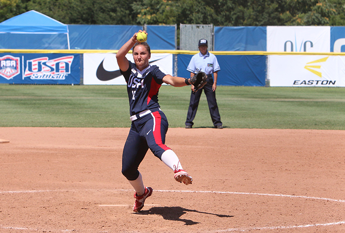 Jessica Moore named 2016 USA Softball Female Athlete of the Year