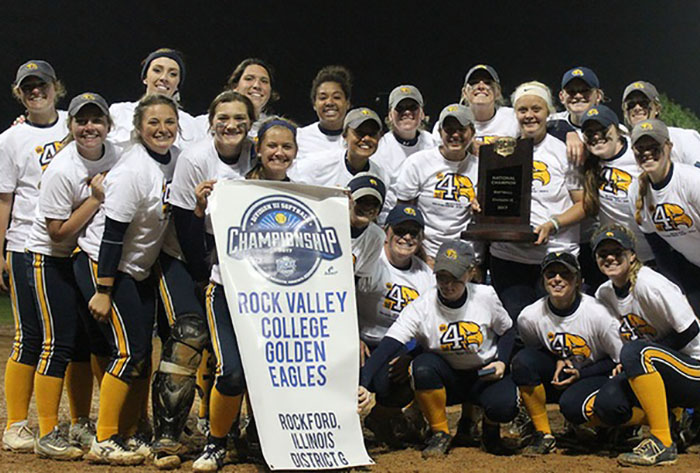Rock Valley cruises to fourth straight NJCAA DIII title