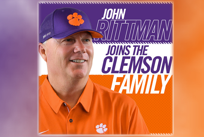 Rittman named first head coach of Clemson softball