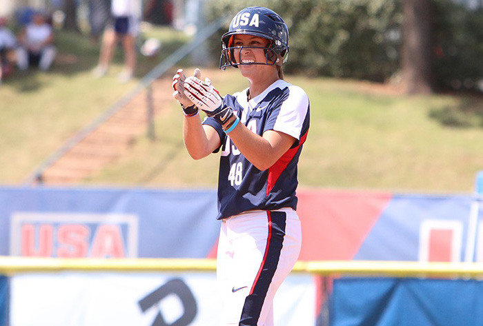 Bubba Nickles tabbed 2017 USA Softball Junior Female Athlete of the Year