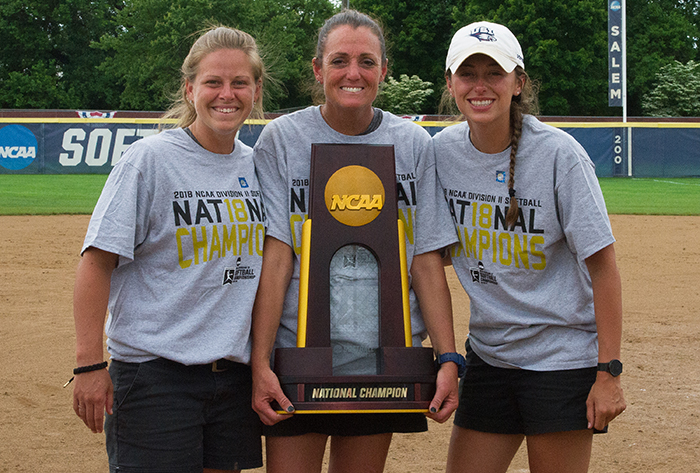 First-time champs Southern Indiana named NFCA NCAA Division II National Coaching Staff of the Year
