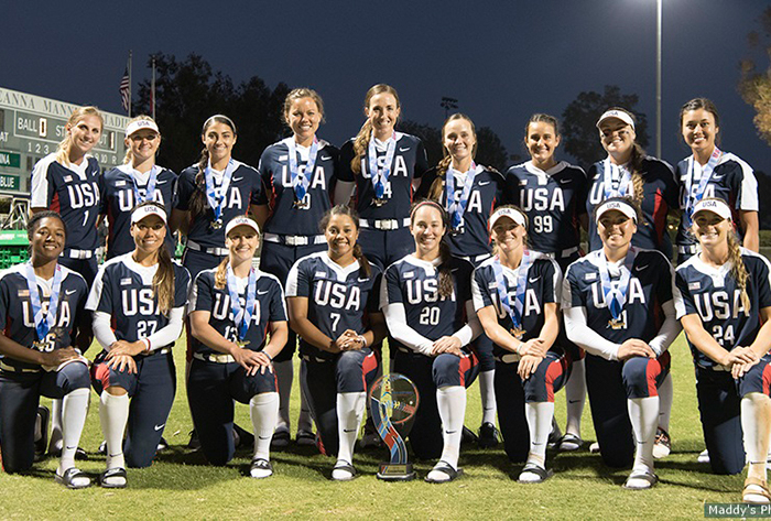 United States captures gold and bronze at USA Softball International Cup