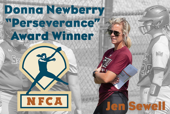 Southern Illinois' Sewell named 2018 Donna Newberry 'Perseverance' Award honoree