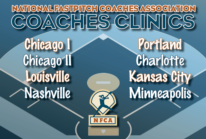 Speakers solidified, registration open for 2019-20 NFCA Coaches Clinics