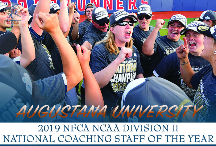 National champs Augustana named 2019 NFCA Division II National Coaching Staff of the Year