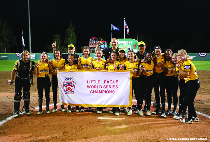 Rowan captures 2019 Little League Softball® World Series title