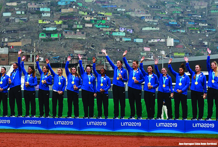 USA Softball wins 2019 Pan American Games Gold