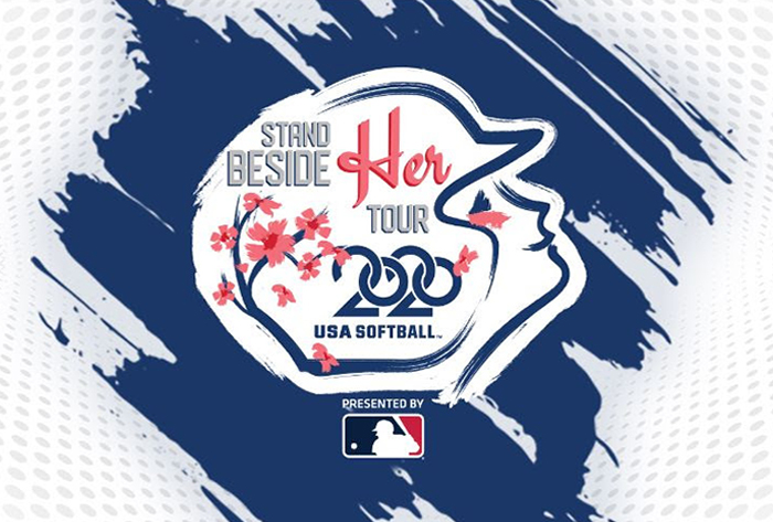 "MLB to be presenting sponsor of USA Softball's ""Stand Beside Her"" tour"