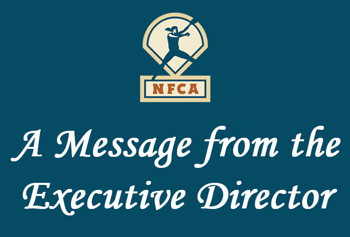 NFCA, executive director, message from nfca executive director, coronavirus, cover-19