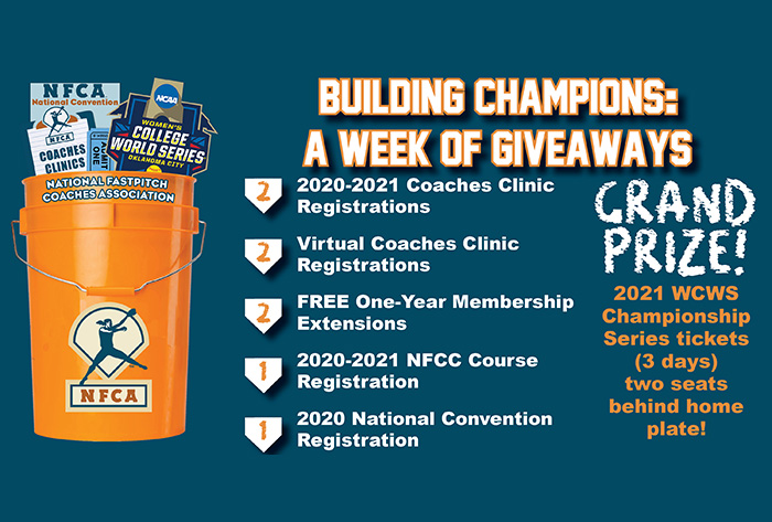 "NFCA announces member drawing through ""Building Champions: A Week of Giveaways"""