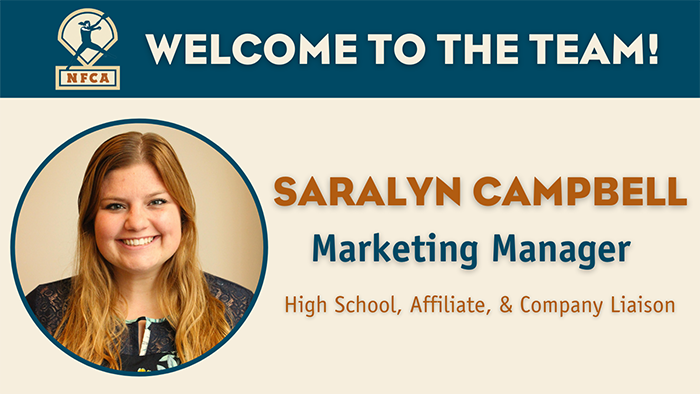 saralyn campbell, saralyn campbell NFCA, NFCA marketing manager, national faspitch coaches association, saralyn campbell NFCA marketing manager
