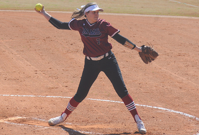 NFCA, naia, nfca naia leadoff classic, nfca naia leadoff classic all-tournament, Brinkley Goff, Mobile