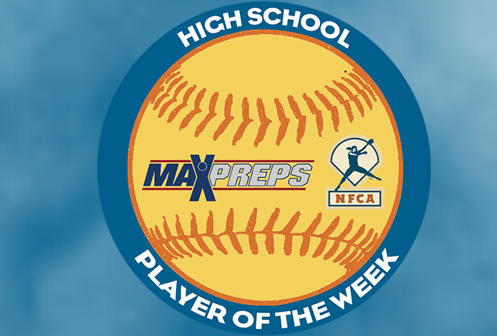 Becker, McCarty, Santiago, Fern, Spangler selected 2018 MaxPreps/NFCA National High School Players of the Week