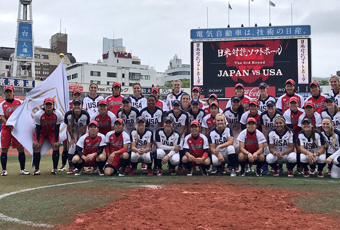 Walk-off grand slam lifts No. 1 Japan over No. 2 USA to clinch All-Star Softball Series