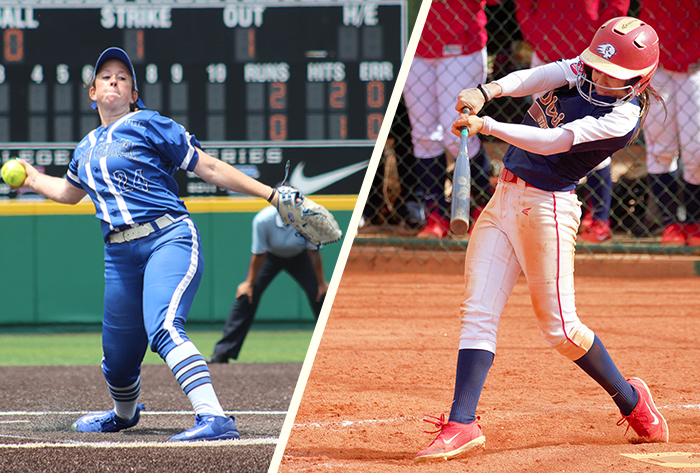 Dixie State's Bassett, North Georgia's Smith earn 2018 Louisville Slugger/NFCA Division II weekly honors