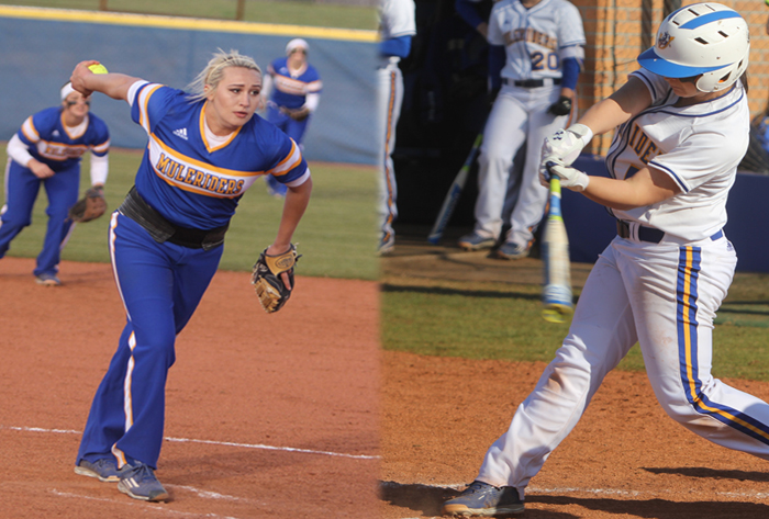 Southern Arkansas duo sweeps first Louisville Slugger/NFCA Division II National weekly honors