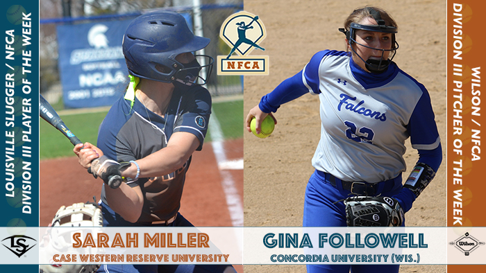 NFCA, Division III, D3, NCAA, Player, Pitcher, accolade, award, honors, coaches, softball, fastpitch