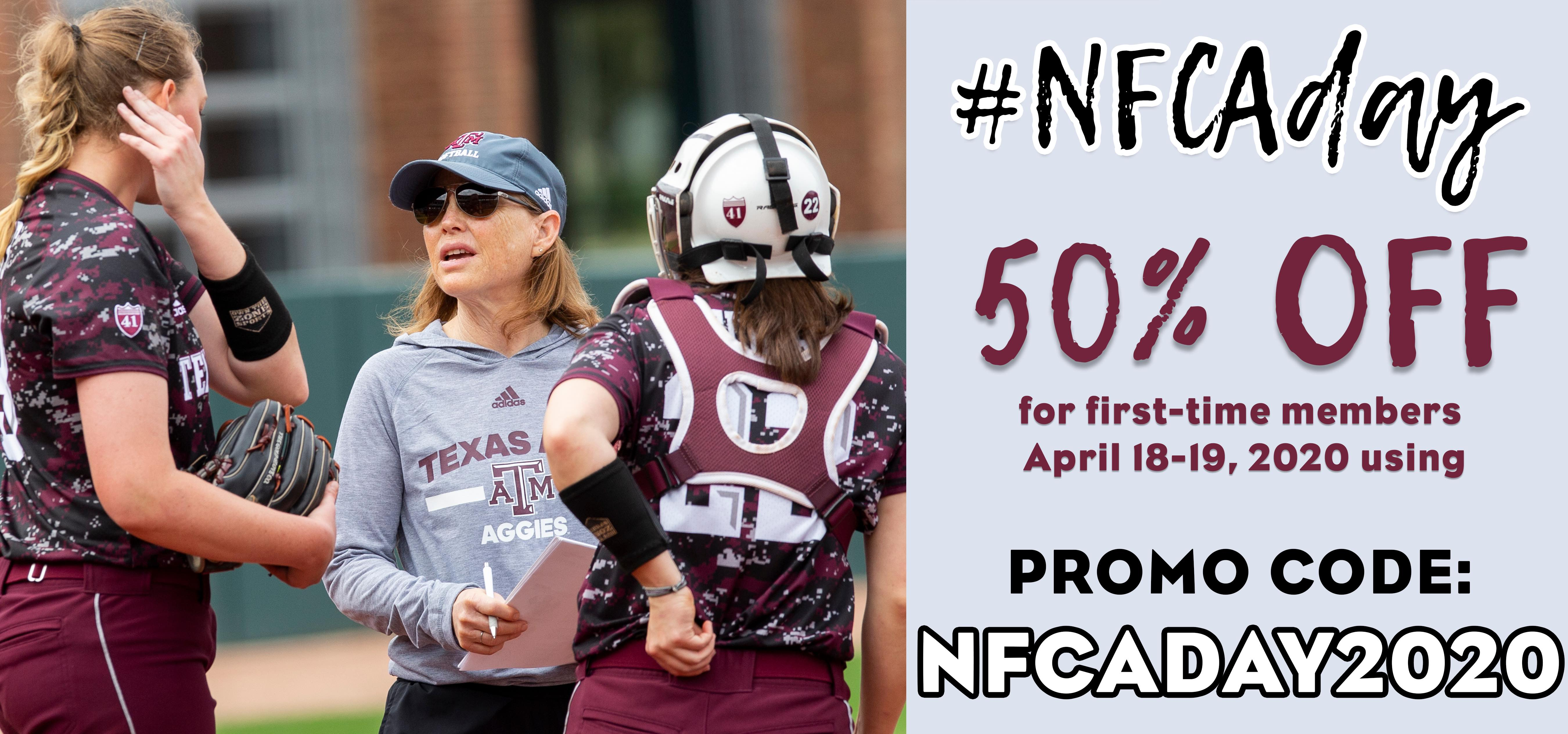 NFCA Day Promo Evans Discount small
