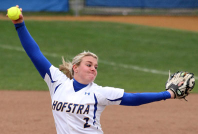 Hofstra's Olivia Galati. Courtesy of Hofstra Athletic Media Relations