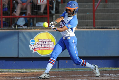Florida's Michelle Moultrie. Photo courtesy of Jim Burgess, UF Communications.