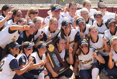 Photo courtesy of UCSD Sports Information.