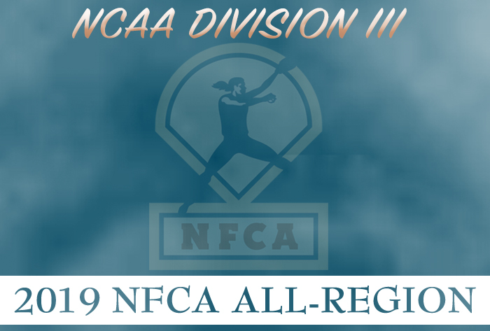 NFCA NCAA Division III 2019 All-Region teams revealed