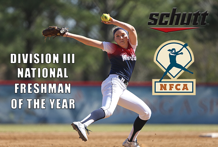Virginia Wesleyan's Hull named Schutt Sports/NFCA Division III National Freshman of Year