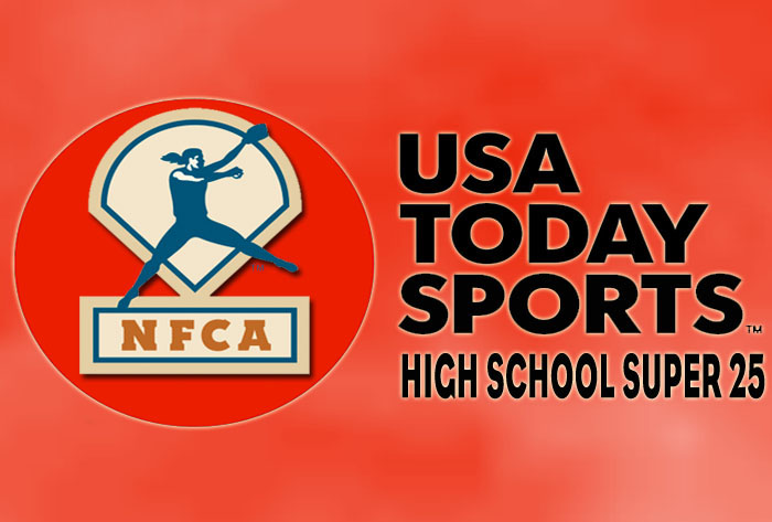Unchanged top six in USA Today Sports/NFCA High School Super 25 Poll