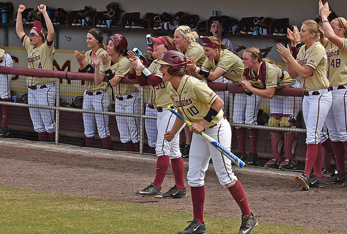 Florida State joins top-five; Oregon, Oklahoma, Tennessee make moves in USA Today / NFCA Division I Top 25 Coaches Poll