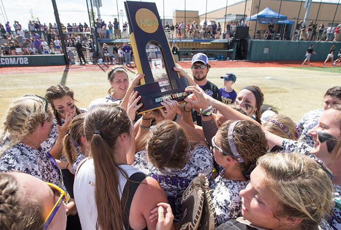 First-time national champions North Alabama, unanimous No. 1 in final NFCA Division II Top 25 Coaches Poll