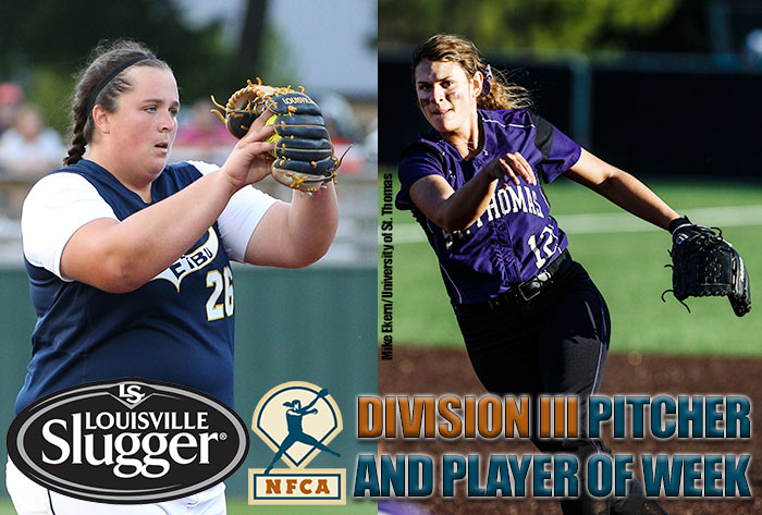 Trainor, McLendon earn Louisville Slugger/NFCA Division III National Player, Pitcher of Week honors