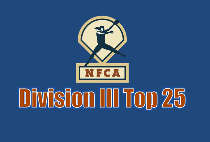 Virginia Wesleyan unanimous No. 1 in NFCA Division III Top 25 poll