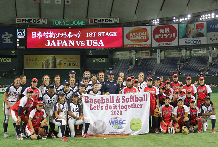 USA and Japan go head-to-head in All-Star Series