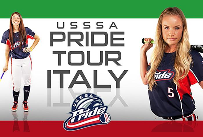 USSSA Pride to represent NPF in Italy