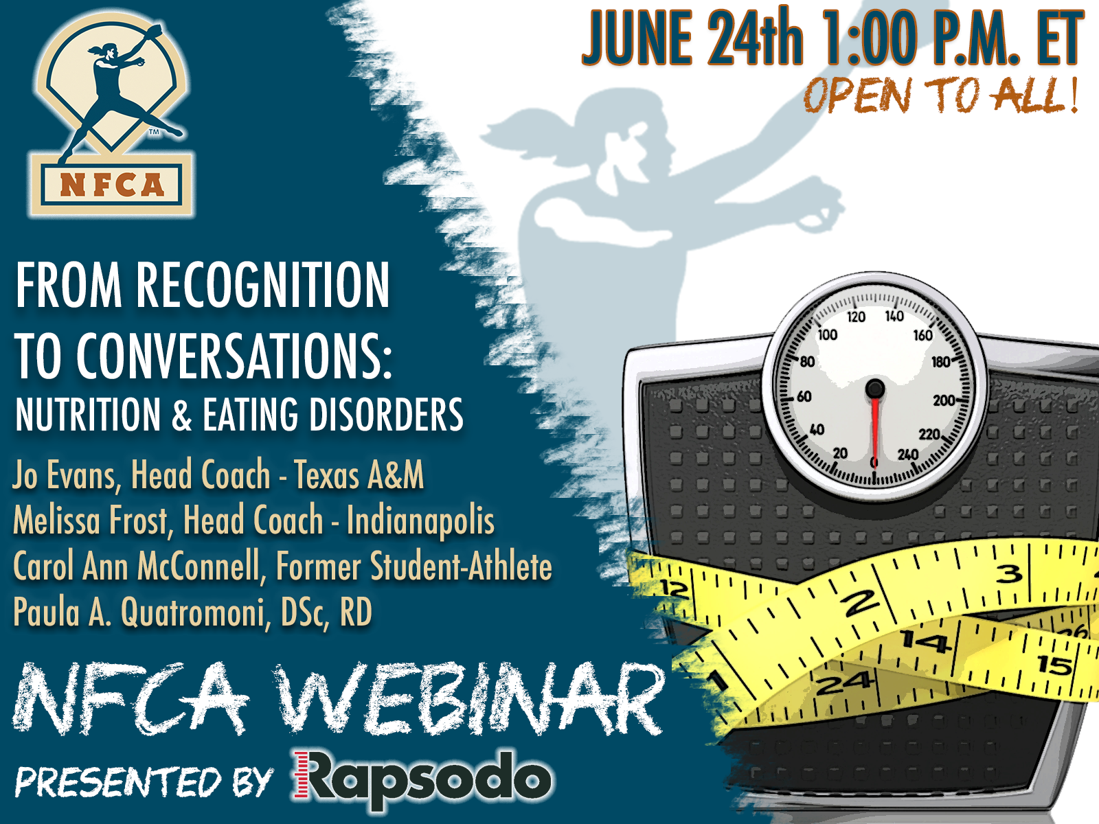 June 24, 2020 | From Recognition to Conversations: Nutrition & Eating Disorders