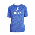 NFCA Holloway Blue Short Sleeve Crew Neck Shirt (Dry-Excel)